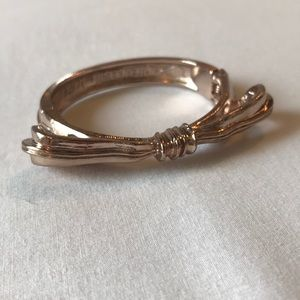 Rachel Leigh for LOFT Rose Gold Bow Bracelet